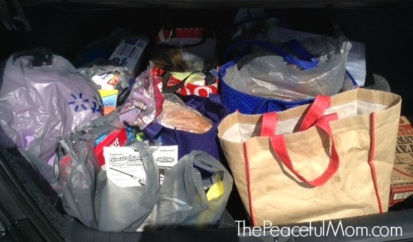 125 Budget Groceries for 6 March week 1 -- The Peaceful Mom