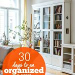 30 Days to an Organized Life 2 -- The Peaceful Mom
