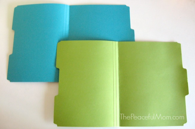 Organize Your Paperwork Fast - Label File Folders -- The Peaceful Mom