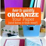 Organize Paper & Keep It Organized!