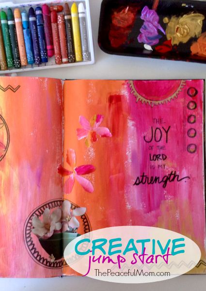 be happy -- increase your creativity and your happiness with these ideas -- The Peaceful Mom