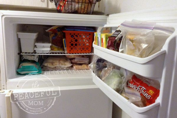 Freezer Inventory -- The Peaceful Mom