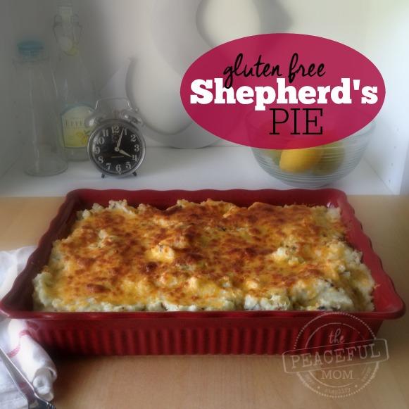 Gluten Free Shepherd's Pie Recipe Final -- The Peaceful Mom 1