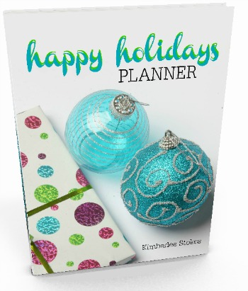 Happy Holidays Planner Photo 350 px
