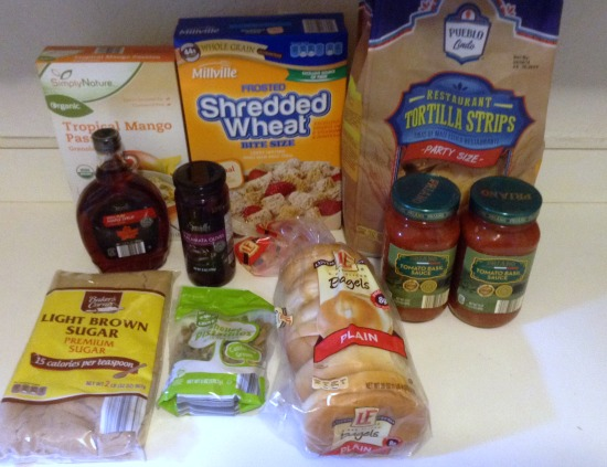 100 Budget Groceries and Menu for 5 -- Nov 6 -- Aldi Grocery Items -- The Peaceful Mom