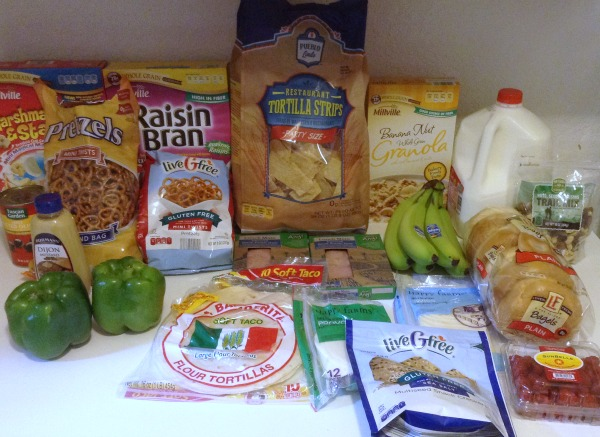 $100 Grocery Budget for 5 -- Aldi Items -- November 2015 -- The Peaceful Mom