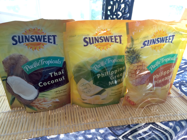 Sunsweet Pacific Tropicals New Flavors -- The Peaceful Mom