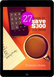 27 Ways to Save $300 This Week black tablet COVER