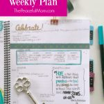 Joyful Life Planner Weekly Plan 2016-03-27 -- The Peaceful Mom 1