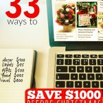 33 Ways to Save $1000 By Christmas -- The Peaceful Mom 1