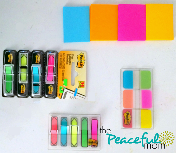 my-fave-inexpensive-planner-supplies-post-it-flags-the-peaceful-mom