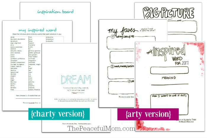 1-joyful-life-planner-pages-dream-section-2017