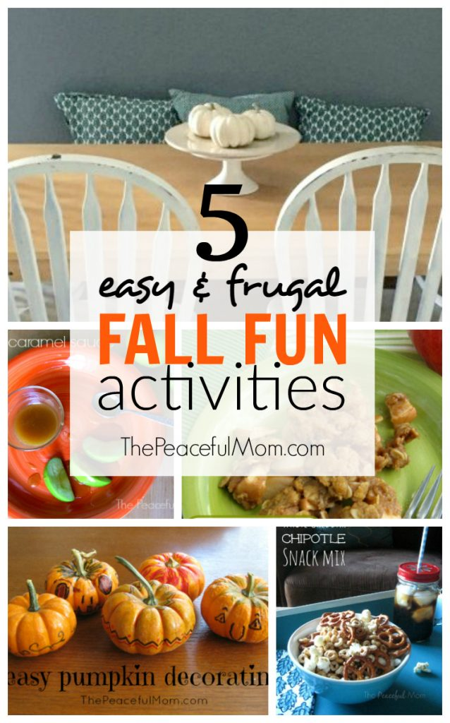 Cheap Fall Family Fun
