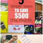 5 Ways You Can Save $500 This Month