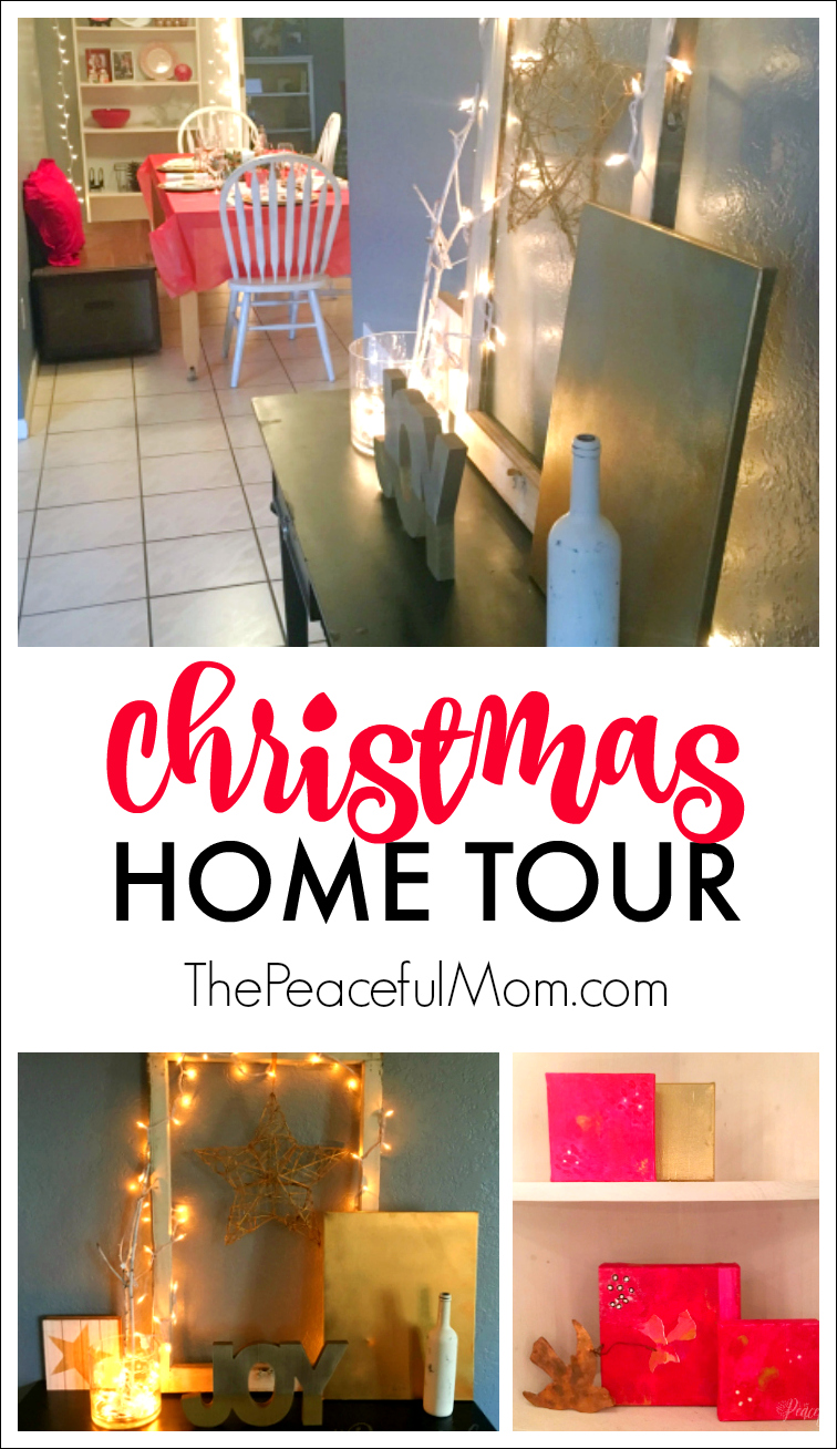 Fixer Upper Christmas Home Tour -- The Peaceful Mom