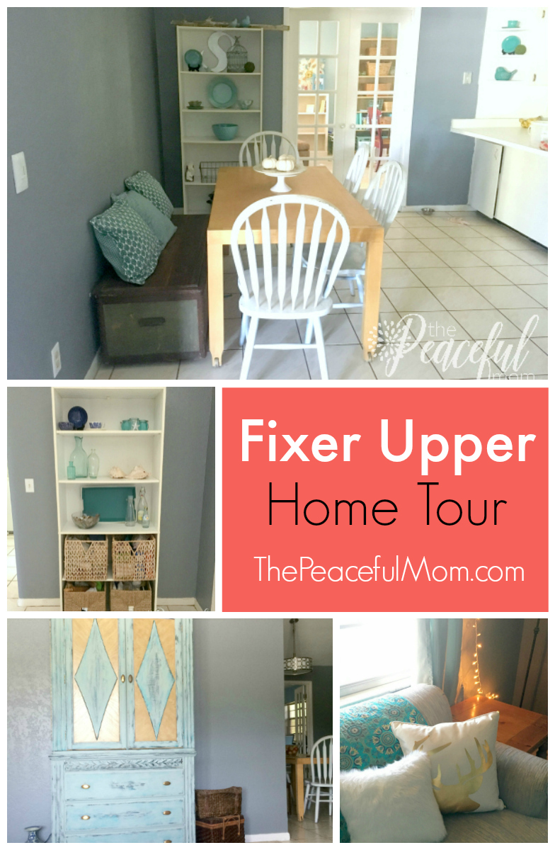 Fixer upper fall pre holiday home tour the peaceful mom for Fixer upper christmas special 2017