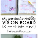 Have You Made Your Monthly Vision Board Yet?