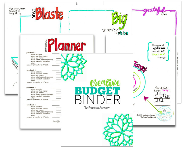 How To Make A Simple Budget Binder Free Printables The