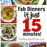 Make Dinner in 15 Minutes!