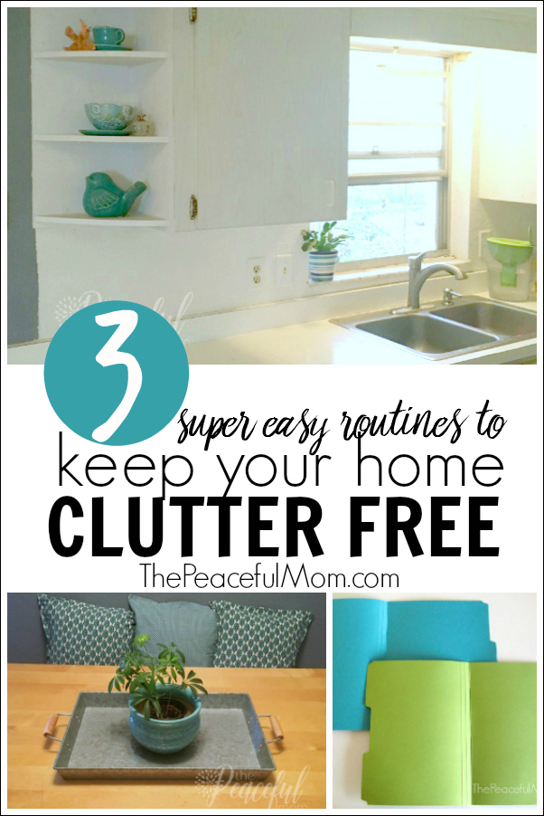 Keep Home Simple New Entry Light: 3 Easy Ways To Keep Your House Clutter Free