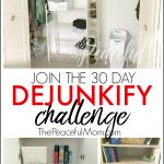 30 Day De-Junkify Challenge