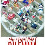 My Christmas Dilemma (& ornament storage solution!)